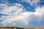 Desert skyscape — Stock Photo