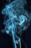 Abstract smoke isolated on black — Stock Photo
