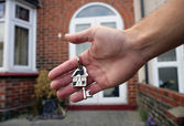 House keys — Foto Stock