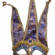 Royalty-Free Stock Photo: Blue jester masquerade mask
