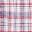 Red white blue check background — Stock Photo