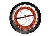 Compass cutout — Stock Photo