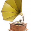 Retro old gramophone — Stock Photo
