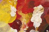 Artist palette background — Stock Photo