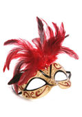 Masquerade mask cutout — Stockfoto