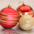 Royalty-Free Stock Photo: Baubles christmas decorations
