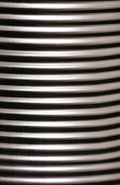 Tin can abstract background — Stock Photo