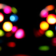 Disco party lights abstract background — Stock Photo
