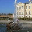 Fountain at a palace — Stock Photo