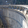 Dam for the production of clean electricity without polluting - Lizenzfreies Foto