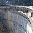 Dam for the production of clean electricity without polluting - Foto de Stock