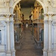 Stock Photo: Interior of Teatro Olimpico in Vicenza, designed by AndrePalladio