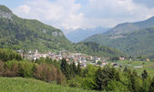 Raveo small village famous for the biscuits in the mountains of Friuli — Stock Photo