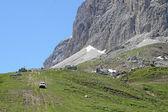 Betonowa drogi kręte górskie z wielu krzywych — Zdjęcie stockowe