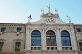 Igreja de são vicente, na piazza dei signori, em vicenza — Foto Stock