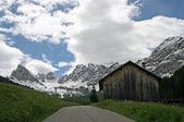 瓦尔迪法萨多洛米蒂山风景 — 图库照片