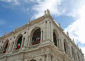 Basilique de l'architecte Palladio Andrea Palladio dans Piazza dei Signori j'ai — Photo
