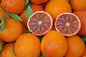 Sicilian red oranges healthy and full of vitamin C in wholesale — Stock Photo