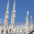 White Milan Cathedral in Italy — Stock Photo