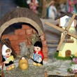 Nativity scene Presepio S025 - Stock Photo