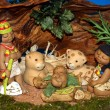 Nativity scene Presepio S024 - Stock Photo