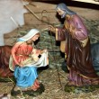 Nativity scene Presepio S015 - Stock Photo