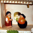 Nativity scene Presepio S009 - Stock Photo