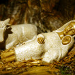 Nativity scene Presepio S010 - Stock Photo