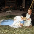 Nativity scene 01 — Foto Stock