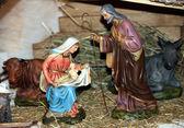 Nativity scene Presepio S015 — Stock Photo