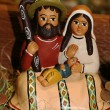 Stock Photo: Holy Family during birth of Jesus in manger 6
