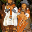 Mary and Joseph and the birth of Jesus at Christmas 13 - Stock Photo