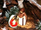 Maria och josef och jesus födelse vid jul 10 — Stockfoto