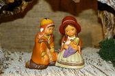 Marie a josefa a zrození ježíše na vánoce 17 — Stock fotografie