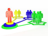 Network administrator — Stock Photo
