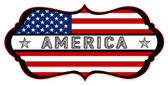 American shield — Stock Photo