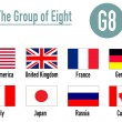 The group of eight, g8 — Stock Photo #7251960