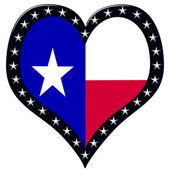 Texas Heart — Stock Photo