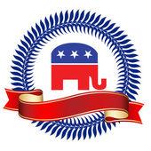 Republican Logo — Stock Photo