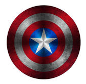 Captain America Shield — Stock Photo
