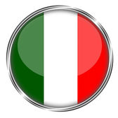 Button Badge of Italy — Stock Photo
