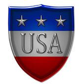 America Shield — Stock Photo