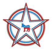 Democrats-button — Stockfoto