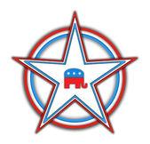 Election star — Stock Photo