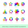 Logo design elements — Stock Vector