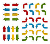 Colorful arrows — Stock Vector