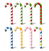 Candy canes — Stock Vector
