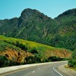 California - Green Road — Stock Photo
