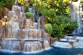 Las Vegas - Wynn Waterfall — Stock Photo