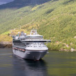 Flaam - Fjords Ship — Stock Photo